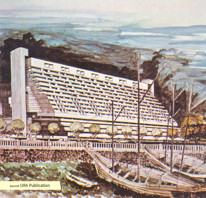 Architectural rendering of Golden Mile Complex