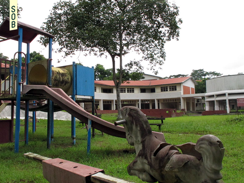 Abadoned playground at Neo Tiew Estate