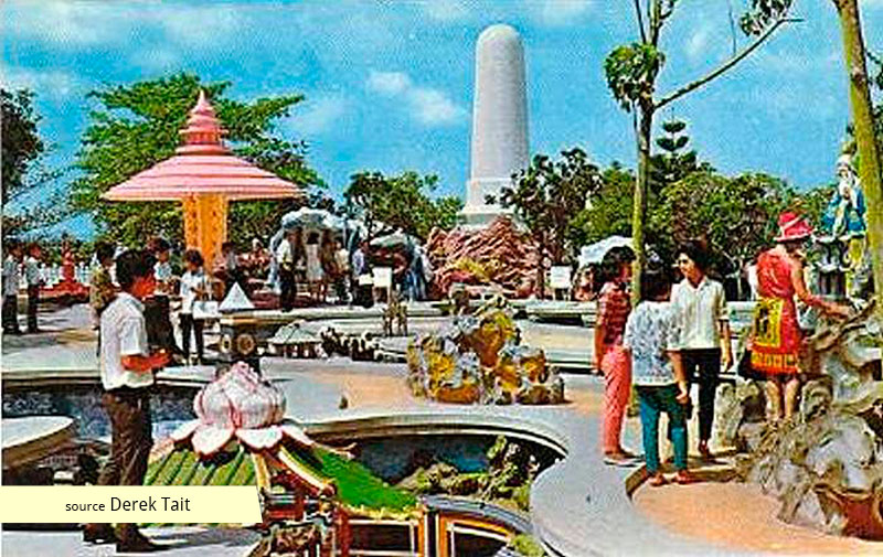 Tiger Balm Garden Singapore in the 1960s