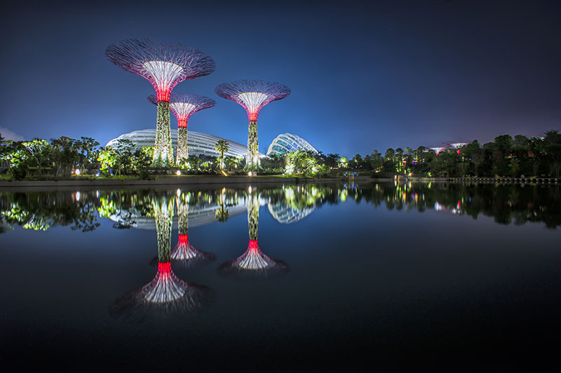 Bay south garden at Gardens by the Bay Singapore