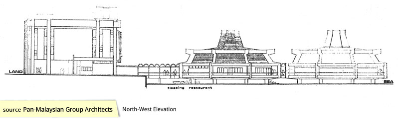 Elevation of The Oasis Restaurant in Kallang