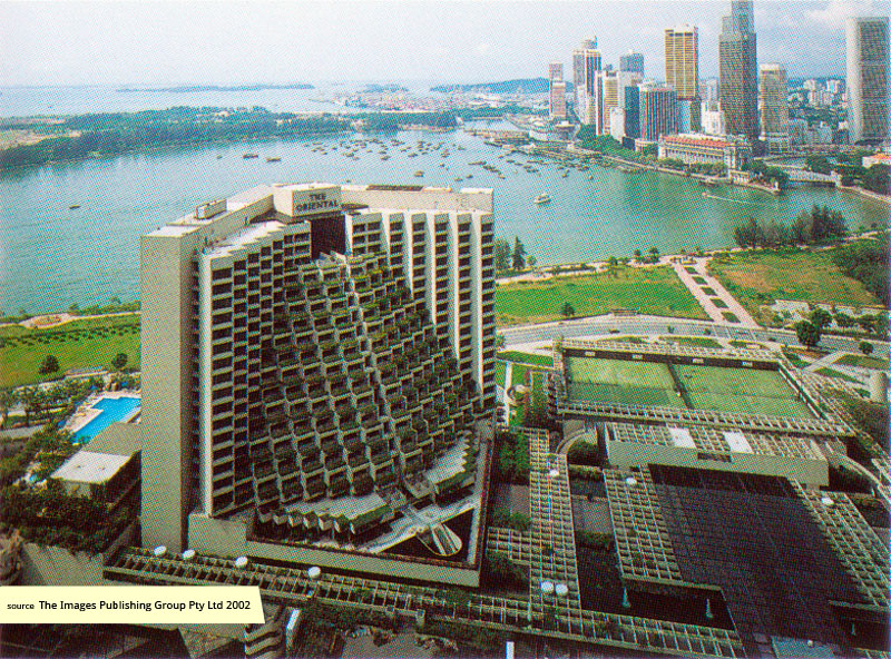 Marina Square and Singapore's Marina Bay in the 1980s