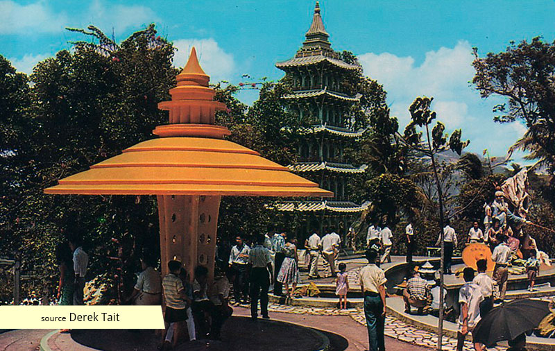 Haw Par Villa sculptures in the 1960s