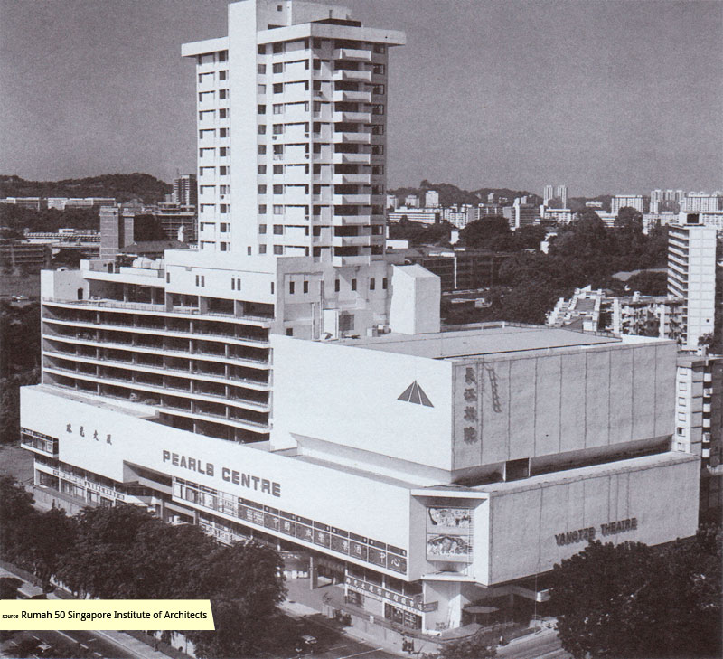 Pearls Centre in the 1970s