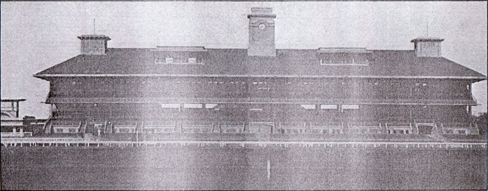The original grandstand of Bukit Timah Turf Club