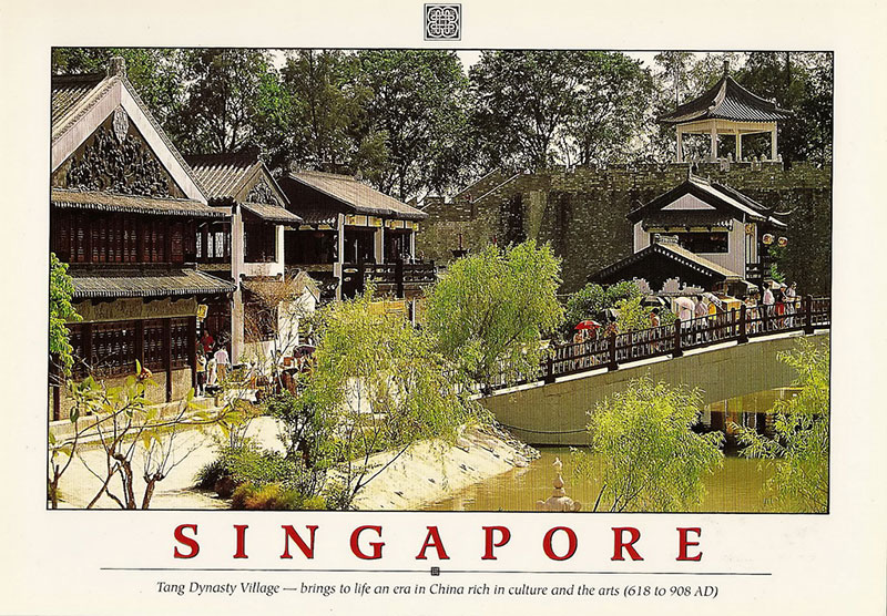 Tang Dynasty City Singapore postcard
