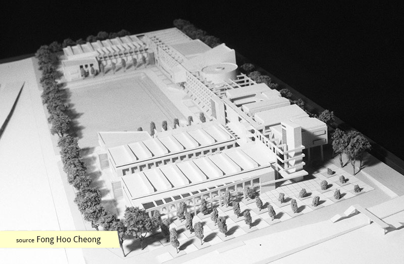 Competition Stage 2 model for ITE Balestier Campus