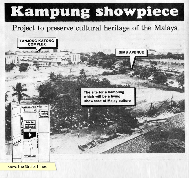 The Singapore government's plan for Geylang Serai Malay Village