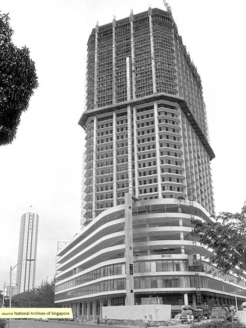 International Plaza under construction