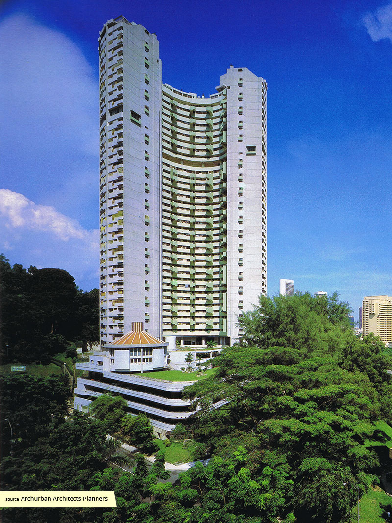 Pearl Bank Apartments on Pearls Hill