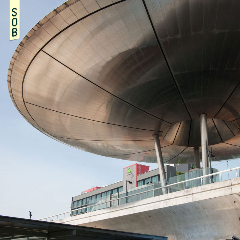 Expo MRT Station has also been called a UFO by some