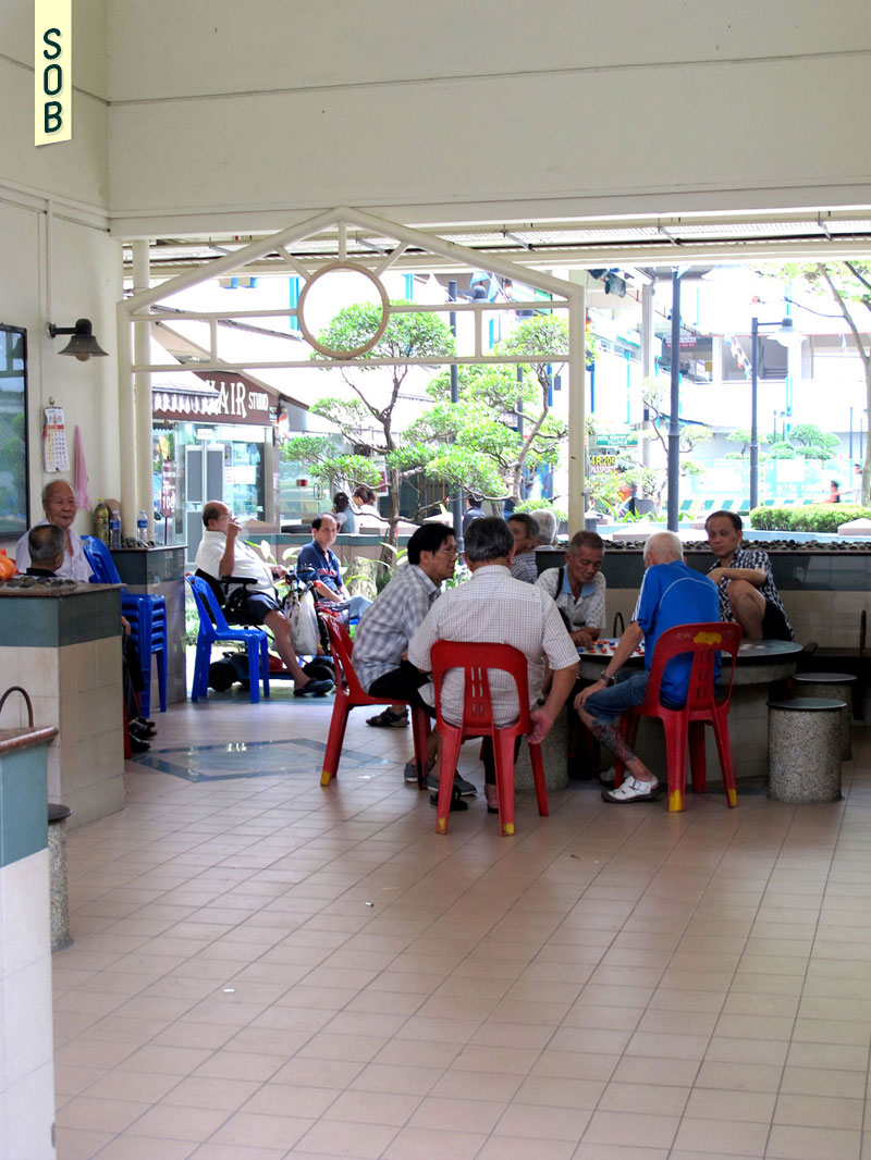 The residents of Tanjong Pagar Plaza and their community spaces