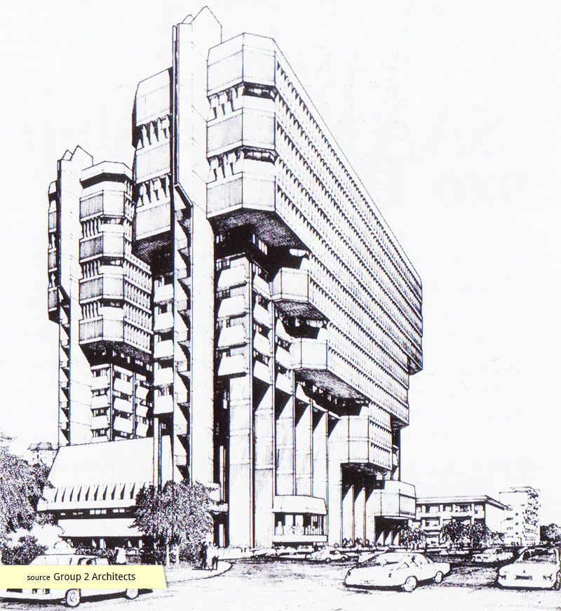 Singapore Power Building architectural rendering