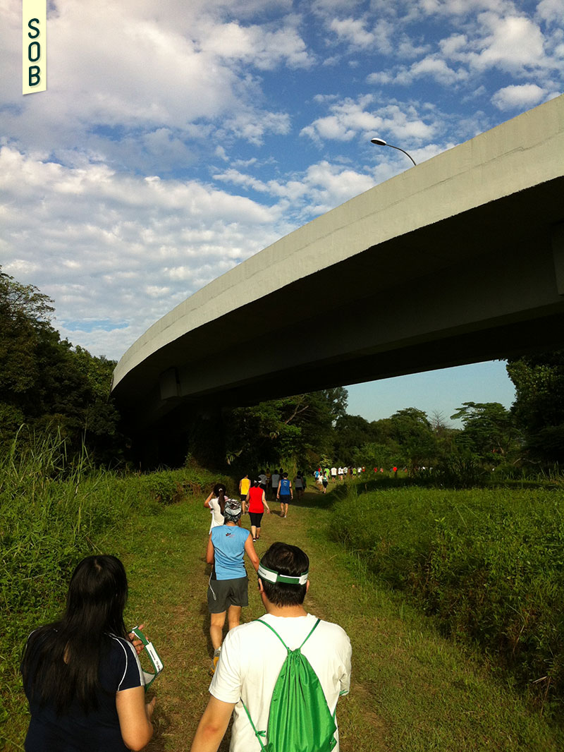 The inaugural Green Corridor Run in 2012, Singapore