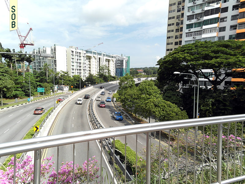 Bukit Timah Plaza/Sherwood Towers and the Clementi Road connection