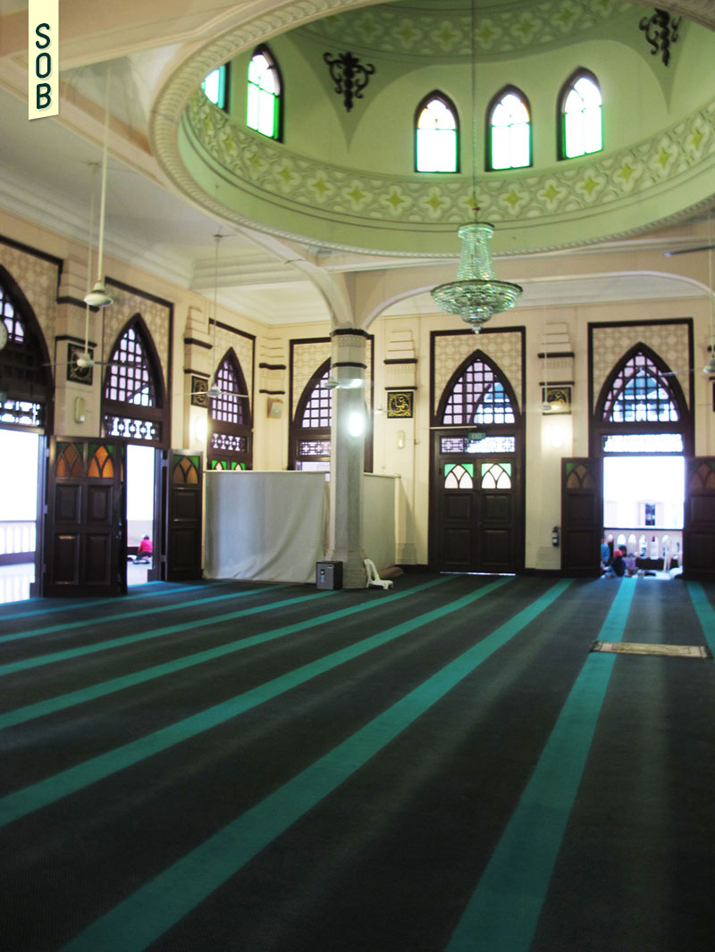 Prayer hall of Hajjah Fatimah Mosque