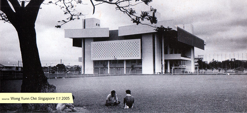 Singapore Conference Hall in the 1960s