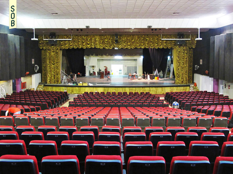 Theatre being readied at Kreta Ayer People's Theatre