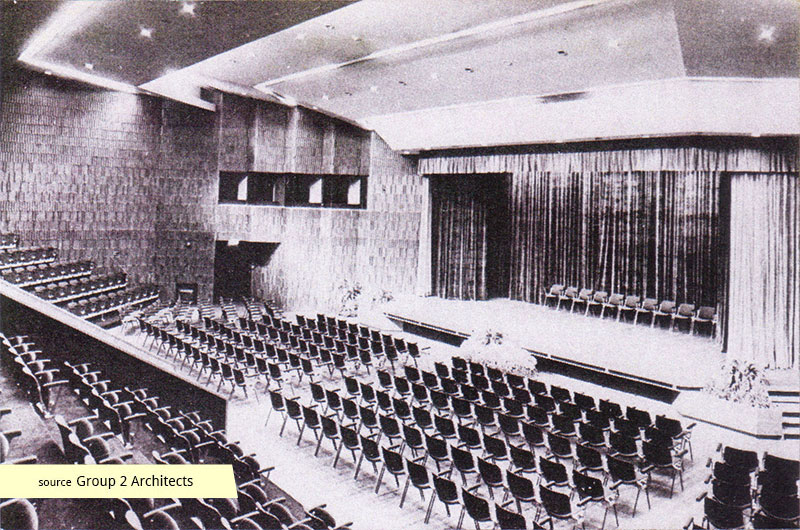 Singapore Power Building auditorium