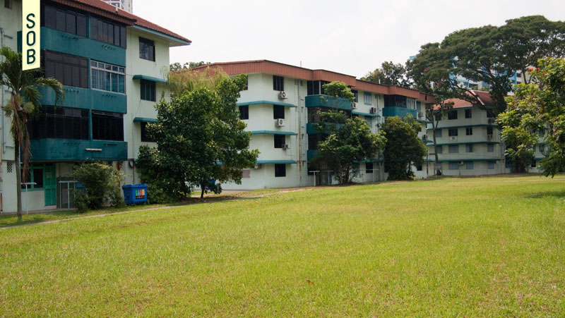 URA Kampong Silat Estate conserved blocks