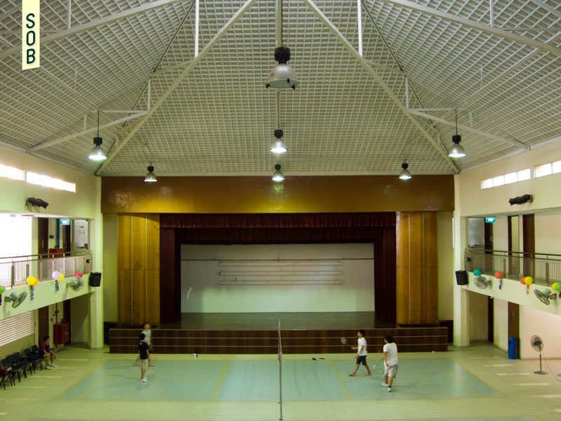 Multi-purpose hall of Henderson Community Club
