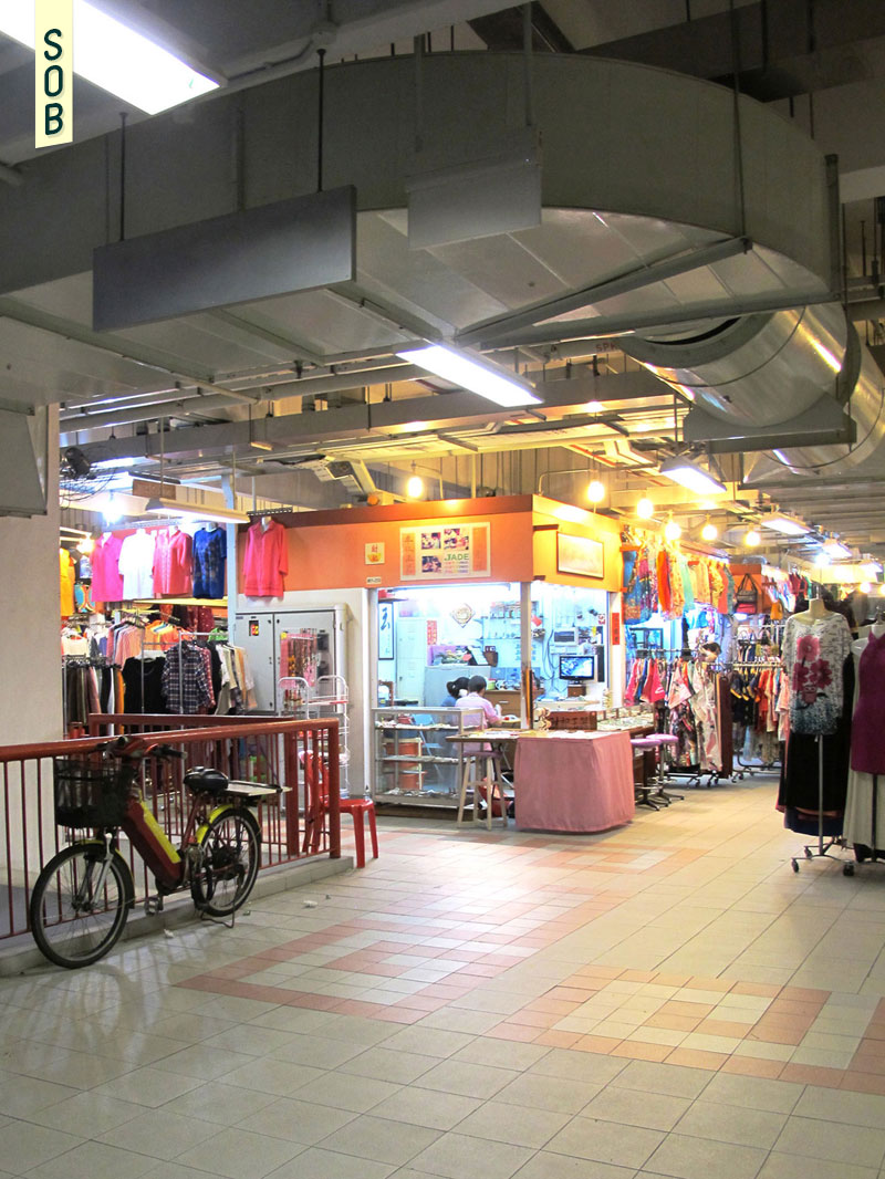 Ground floor retail of Chinatown Complex